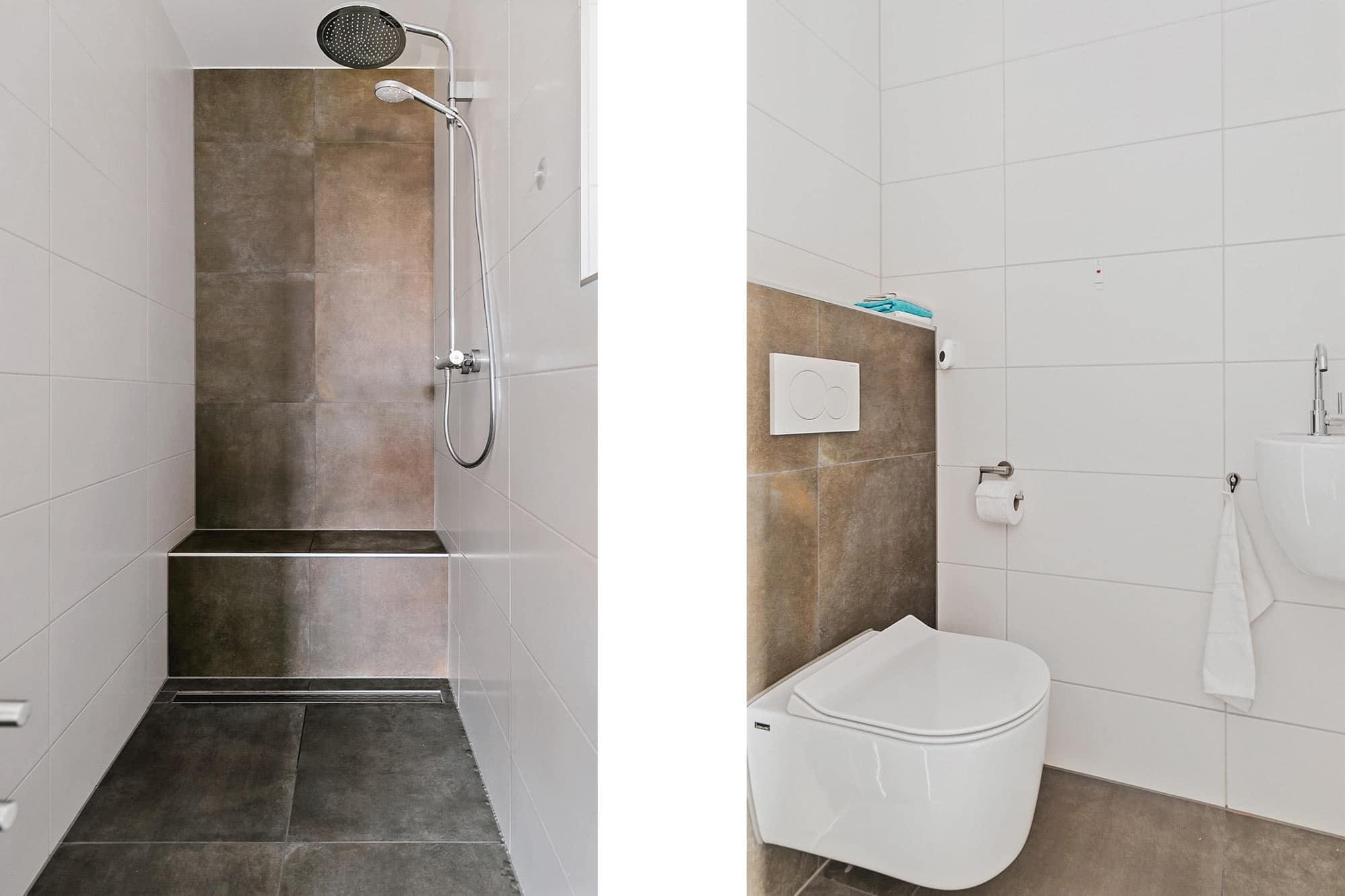 De badkamer in de woning