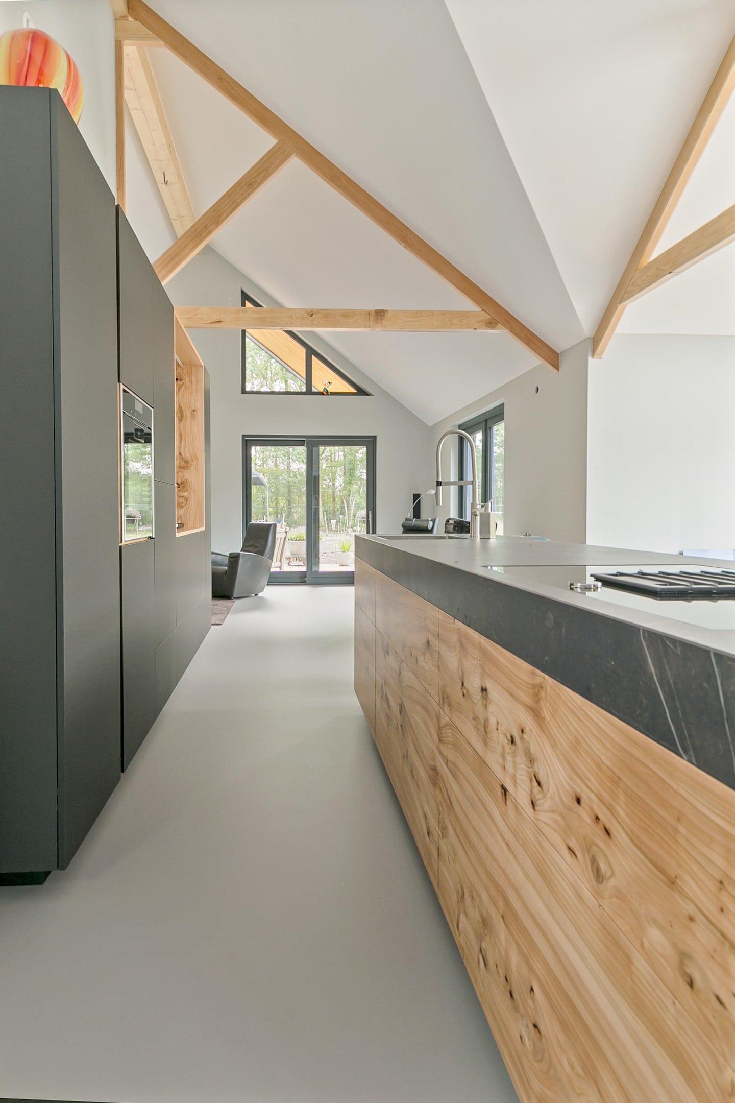 Keuken in de woning