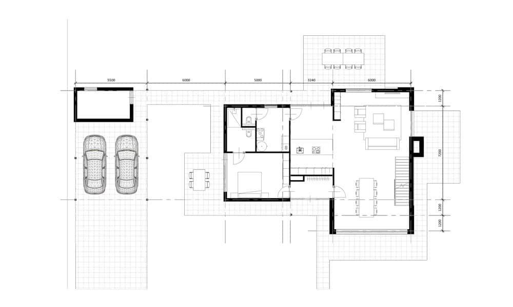 Plattegrond levensloopbestendige woning