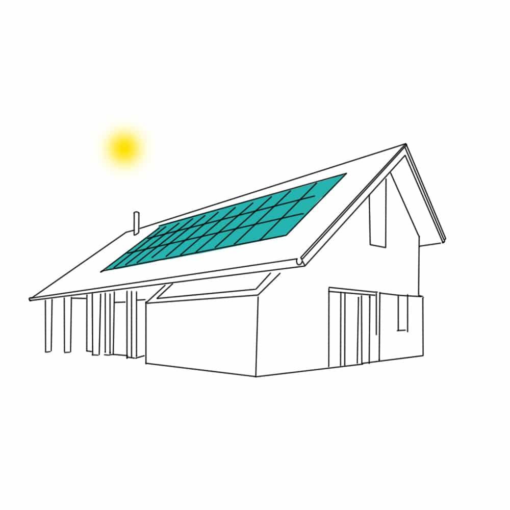 Energieneutraal wonen met zonnepanelen