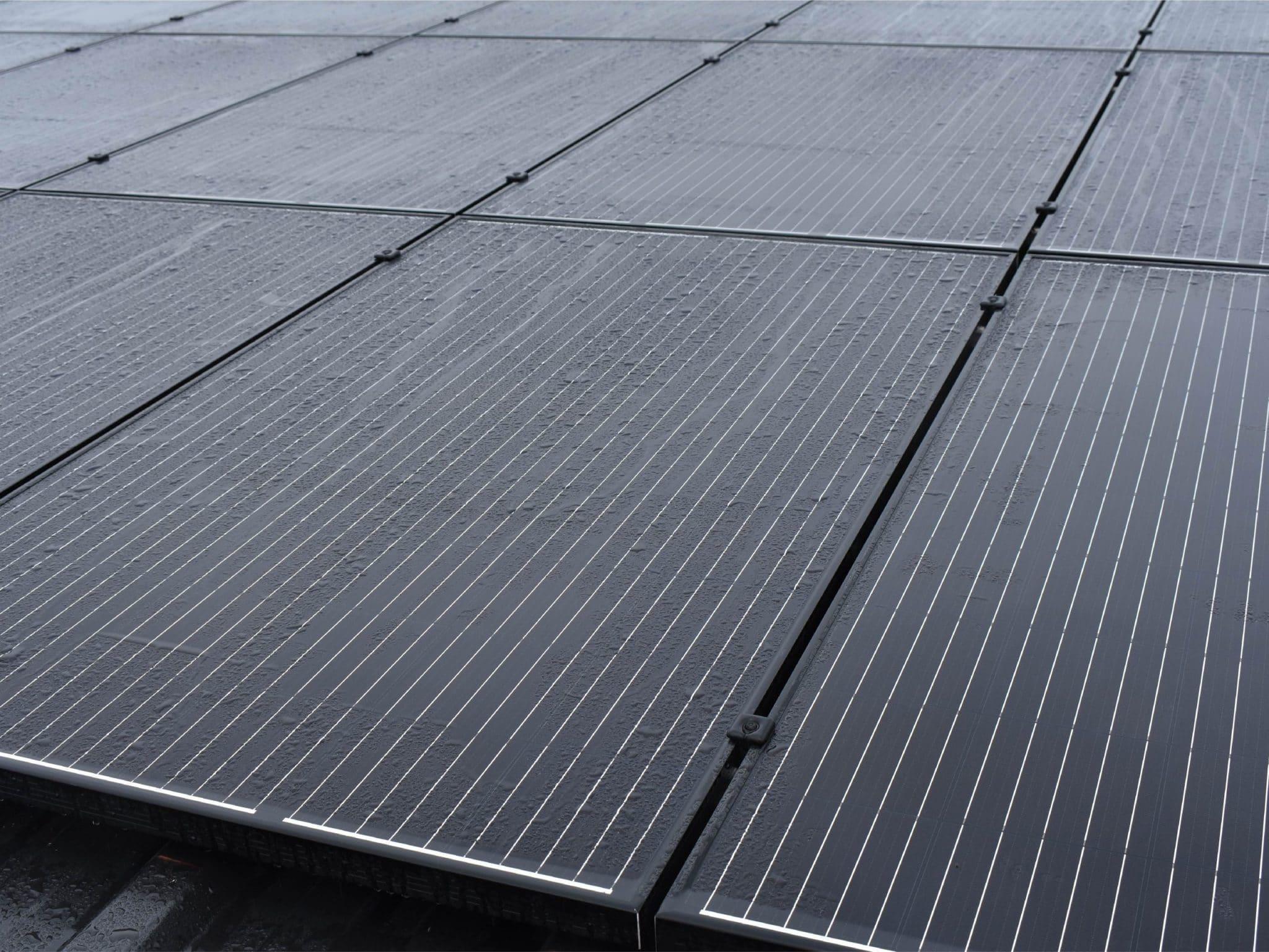 Duurzaam bouwen met zonnepanelen