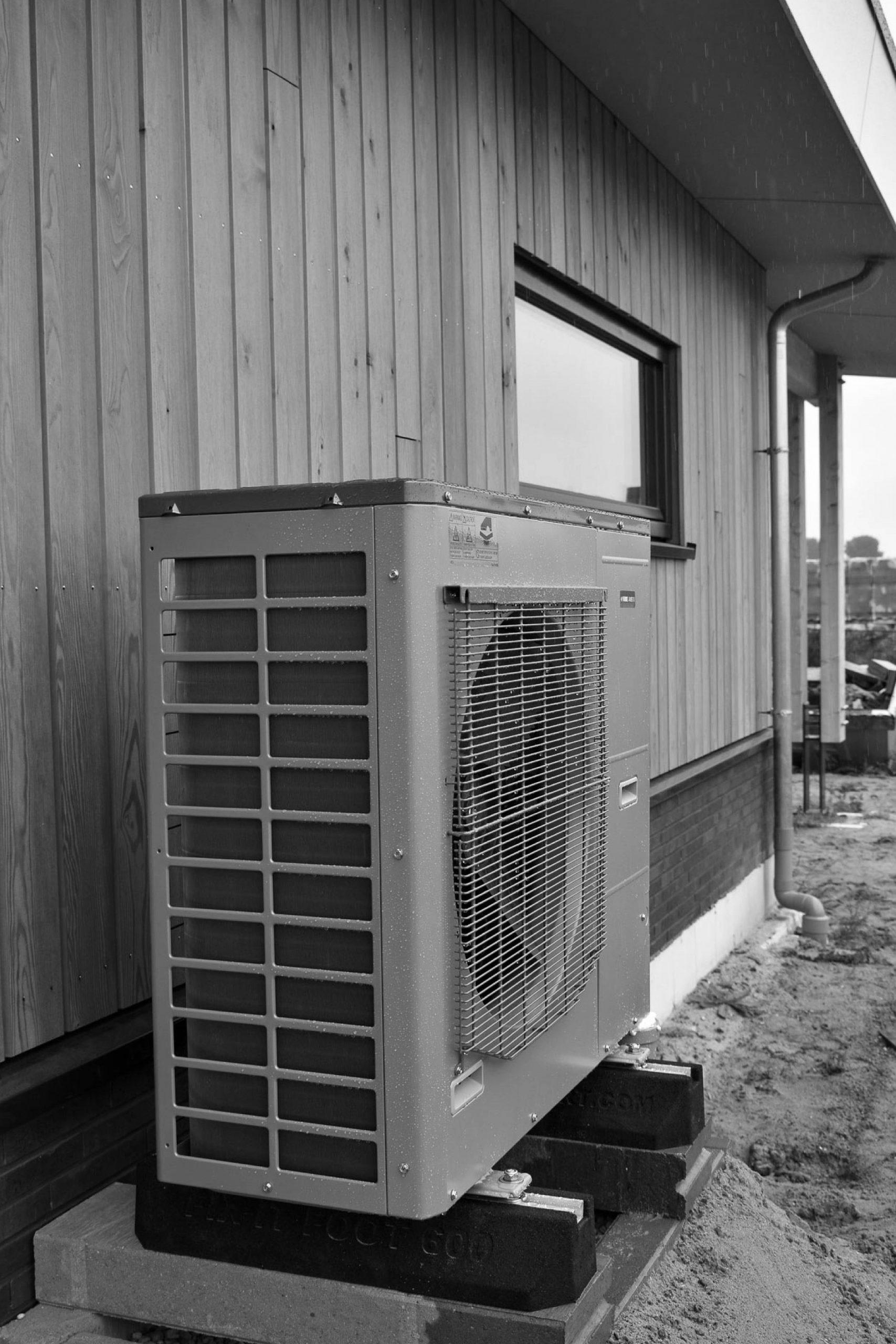 Duurzaam wonen en bouwen met een warmtepomp
