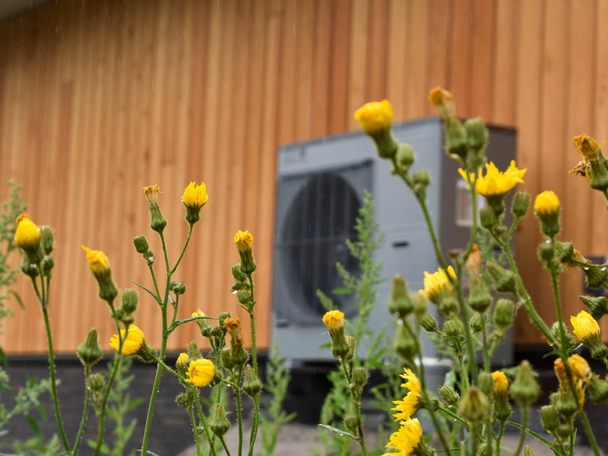 Duurzame woning bouwen - Warmtepomp