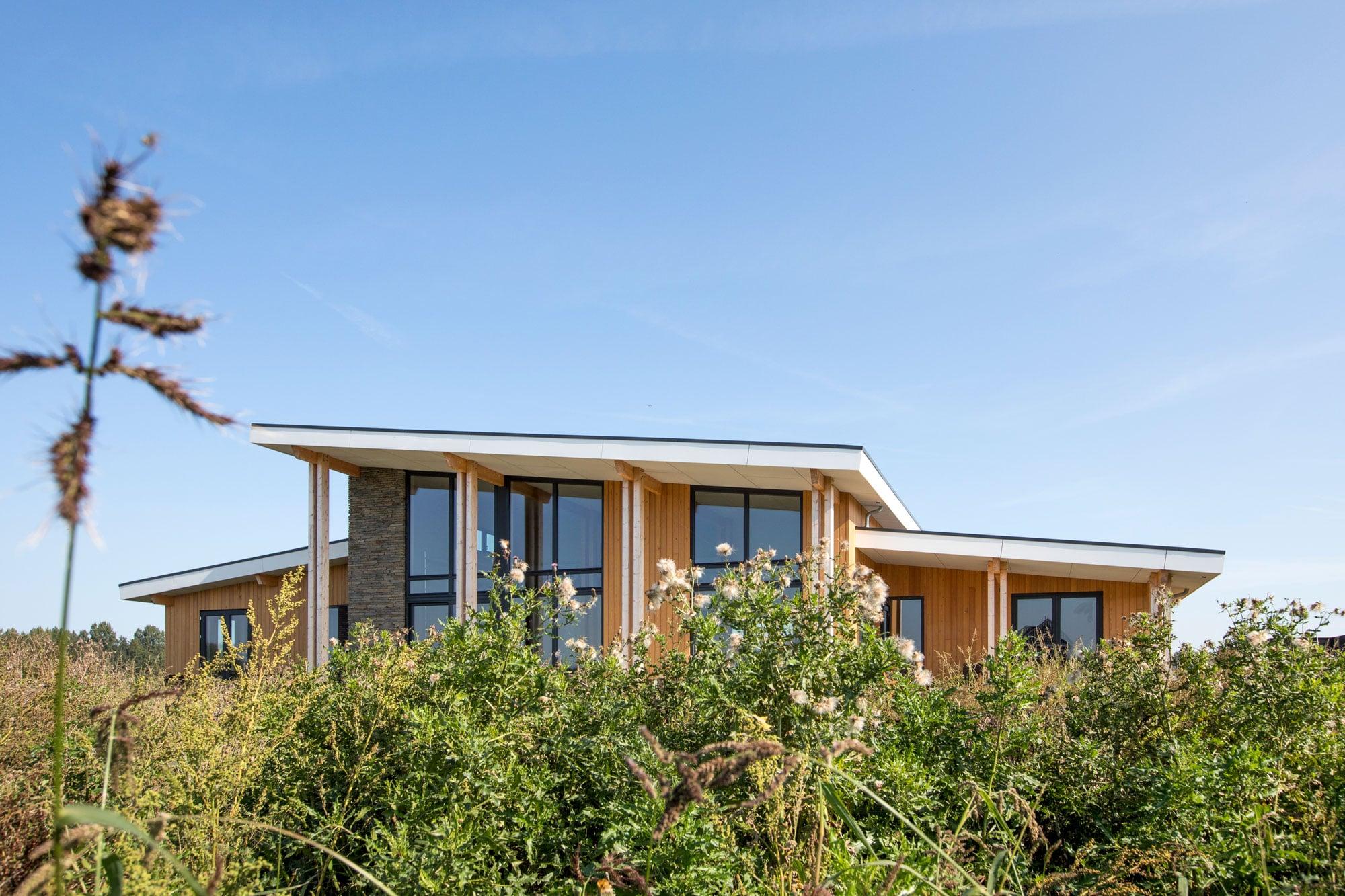 Rustieke prairie woning in een groene omgeving